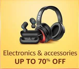 Electronics and Accessories Up To 70% Off Amazon Great Indian Festival Sale The Offer Zone India